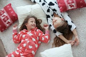 С пижамами для девочек от магазина olioli.com.ua - сон будет крепким