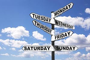Откуда пошли названия дней недели?
