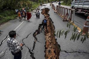ほとんどの地震はどこで発生しますか?